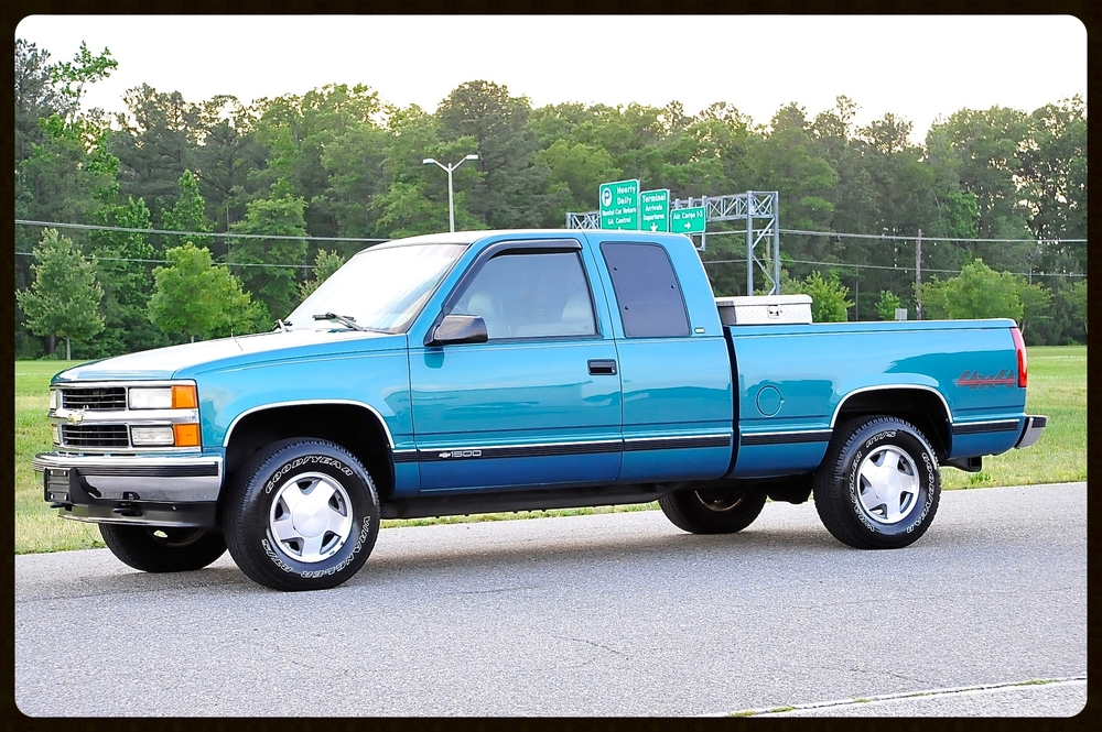 1997 Silverado 1500 Ext Cab 4x4....Gorgeous Truck with ONLY 74K Original Miles..This Silverado is Loaded Up and has an Impeccable Service History