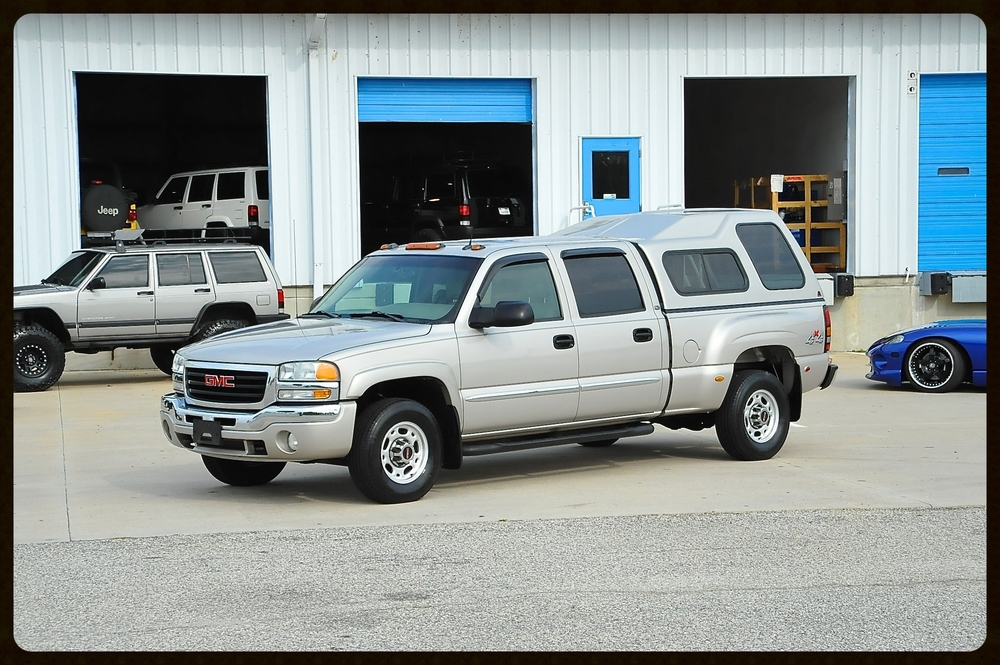 2004 Sierra 2500 SLT...100% Loaded with ONLY 57K ORIGINAL MILES...This Truck is as Clean as it Gets...Very Rare Find...Must See
