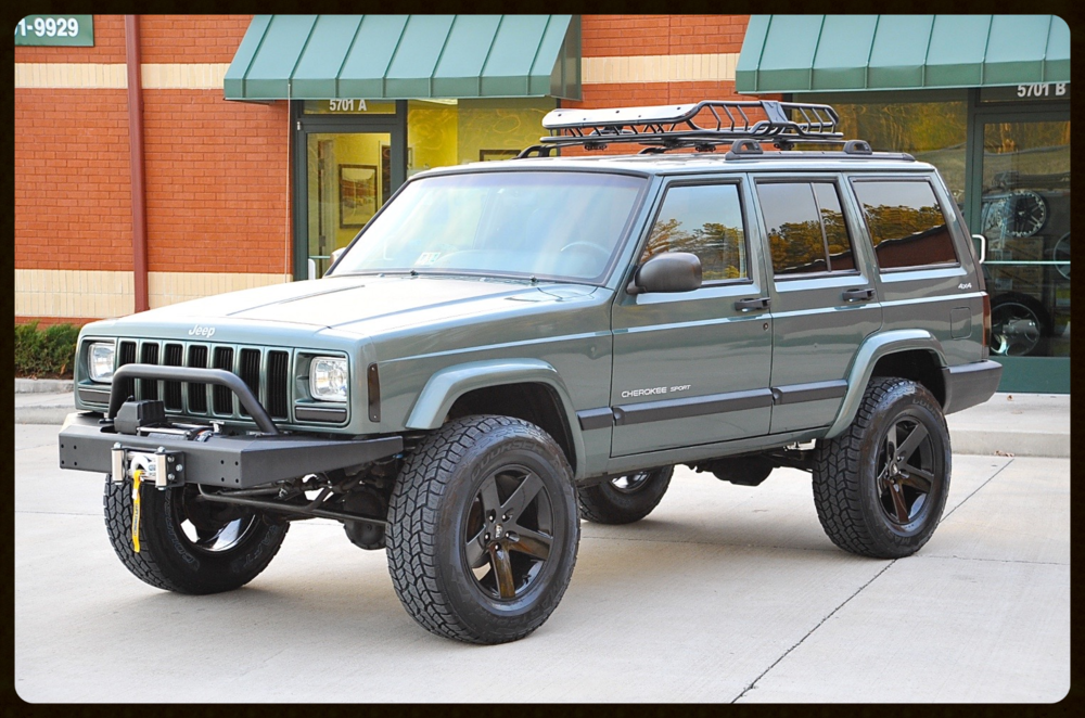lifted cherokee sport xj for sale lifted jeep cherokee built jeep cherokee davis autosports. Black Bedroom Furniture Sets. Home Design Ideas
