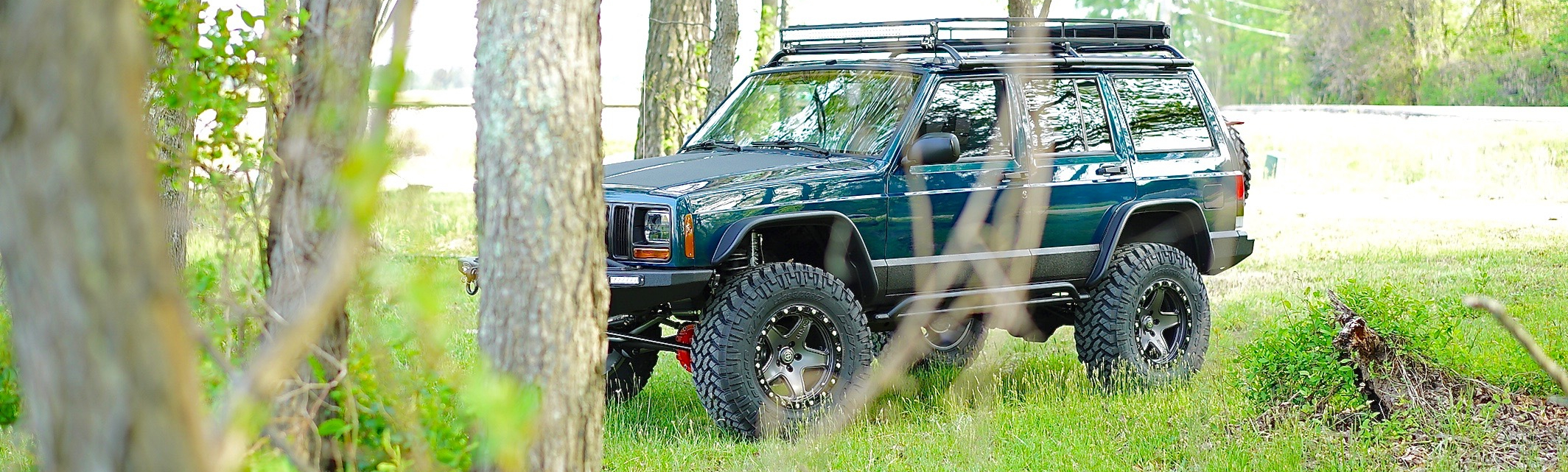 built cherokee- old — davis autosports