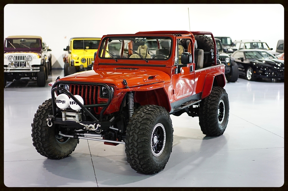 This is truly the baddest the YJ on the US market. Well over $50k Invested in this amazing Jeep. Magazine covers since 2010 with 6 page spreads