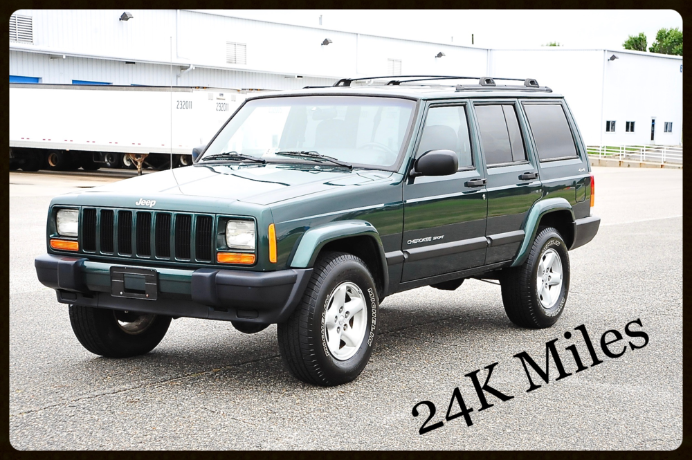ONLY 24K MILES....2001 Cherokee Sport...This Jeep was as new as it gets. Click Here to view more Photos.