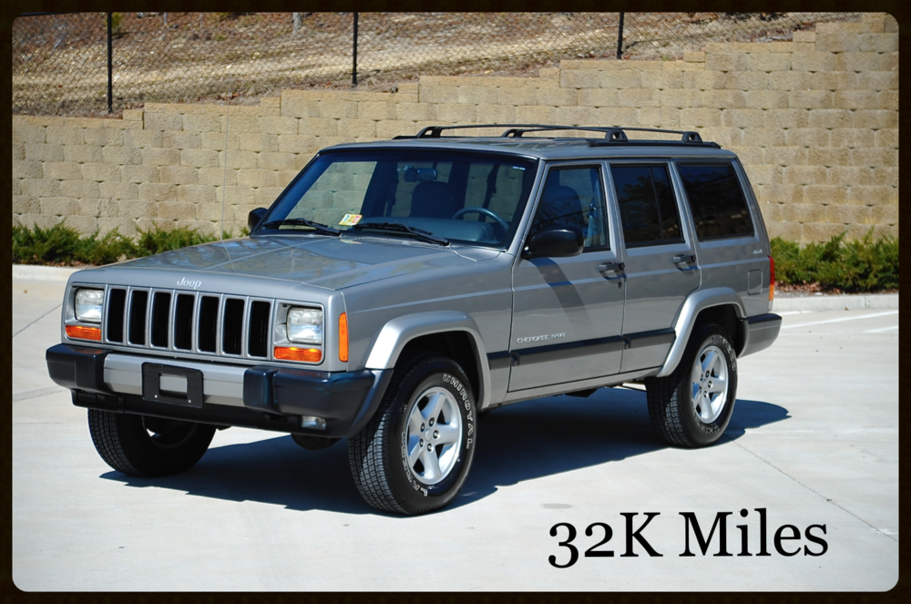 Jeeps For Sale In Va >> Jeep Cherokee XJ Sport For sale - Low Mileage Original ...