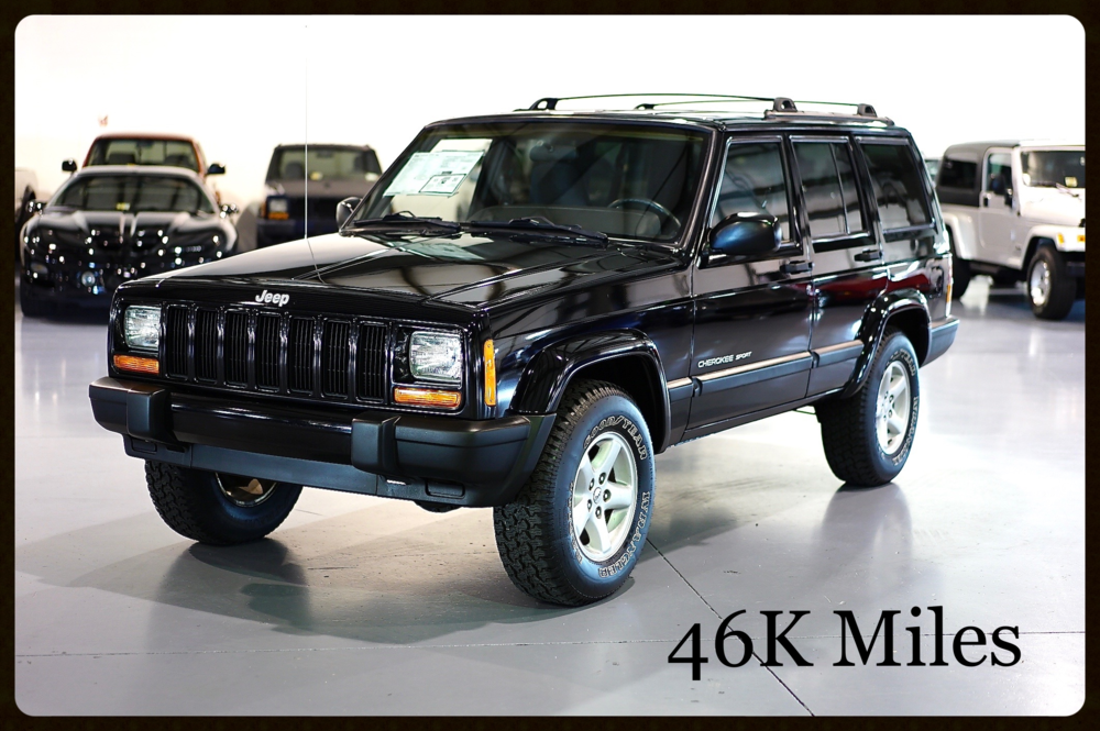jeep cherokee xj sport for sale low mileage original. Black Bedroom Furniture Sets. Home Design Ideas