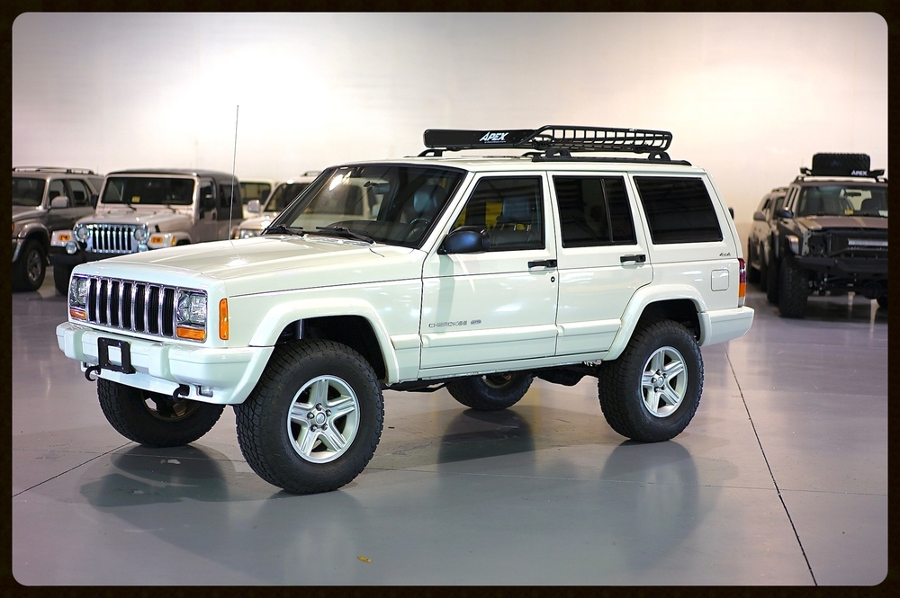 Check out this awesome and timeless Stage 2 XJ. This Is a factory Limited and Upcountry Package Jeep making it VERY RARE. Click for Video and Pics