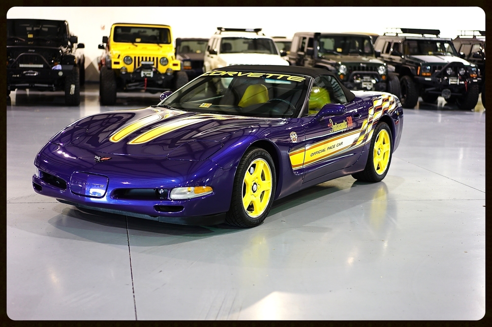 Absolutely Amazing Corvette Pace Car with ONLY 3K Miles...This Vette is truly MINT MINT MINT.....855-955-3377