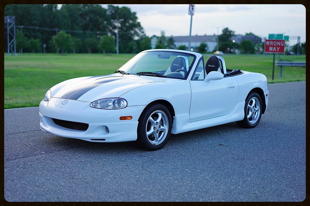 2002 Mazda Miata with ONLY 16K Original Miles...This Miata is 100% Loaded with EVERY OPTION...This Miata is as nice as they come !!!!