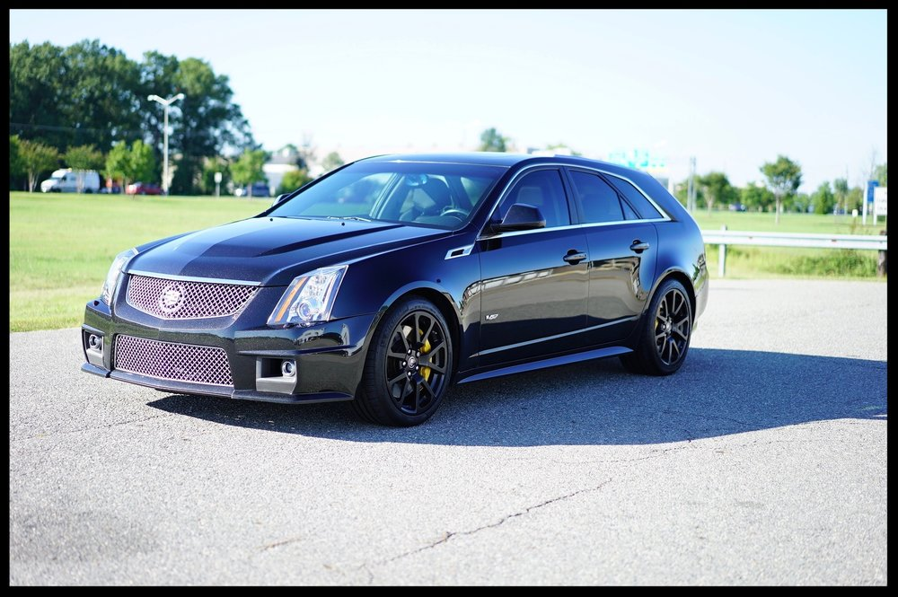 2011 CTS-V Wagon...Black Diamond Edition with EVERY OPTION...Brand new Tires...Every single service record...click for more pics and video