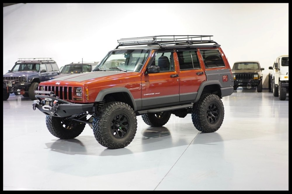 Lifted Cherokee Sport Xj For Sale Lifted Jeep Cherokee