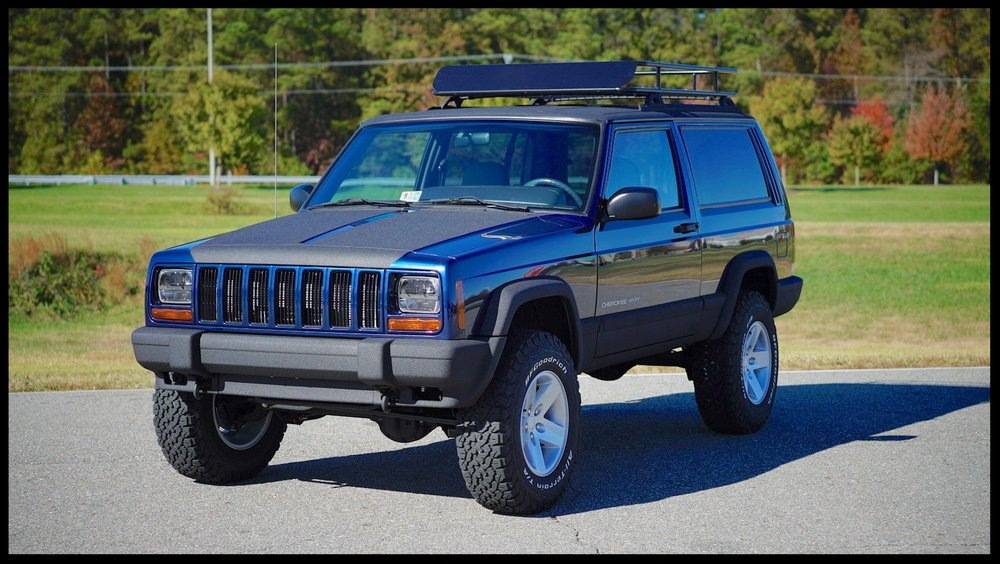 Fully Serviced and Built Stage 2 Cherokee with MANY additional upgrades...Very Rare 2 Door with Factory Up Country Package.