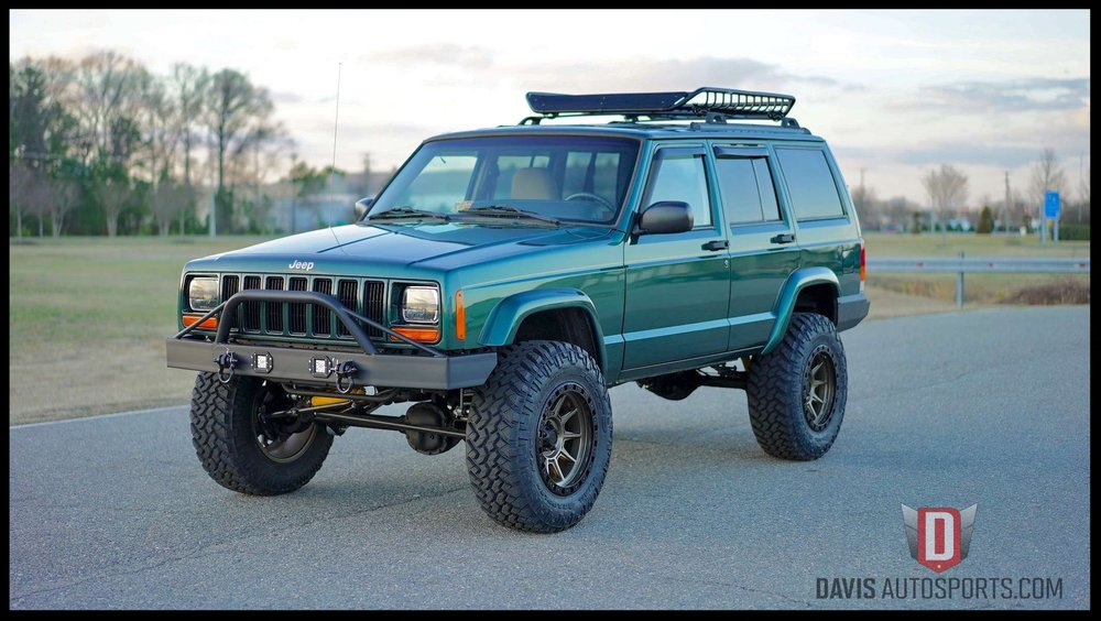 sale stage xj built cherokee that never another for old the davis custom das autosports lifted hit market