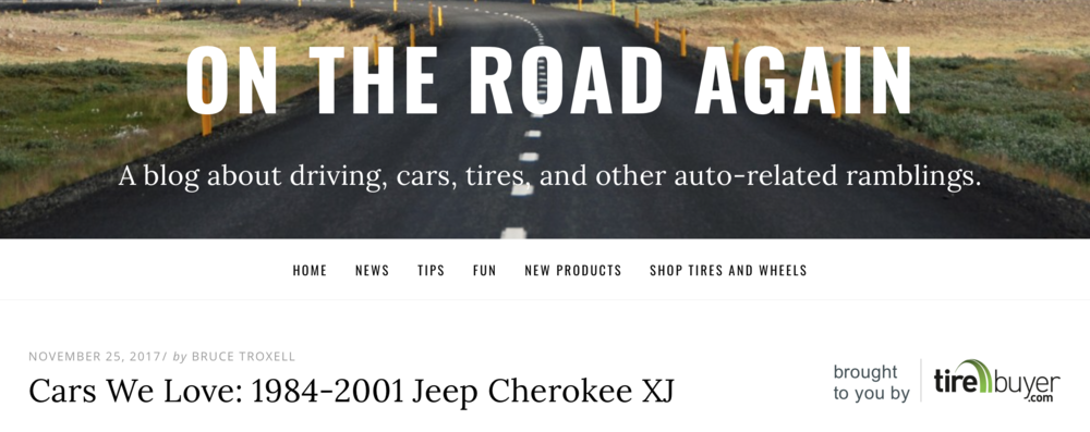 Check Out this National Review on Cherokee XJs and Davis AutoSports !!!