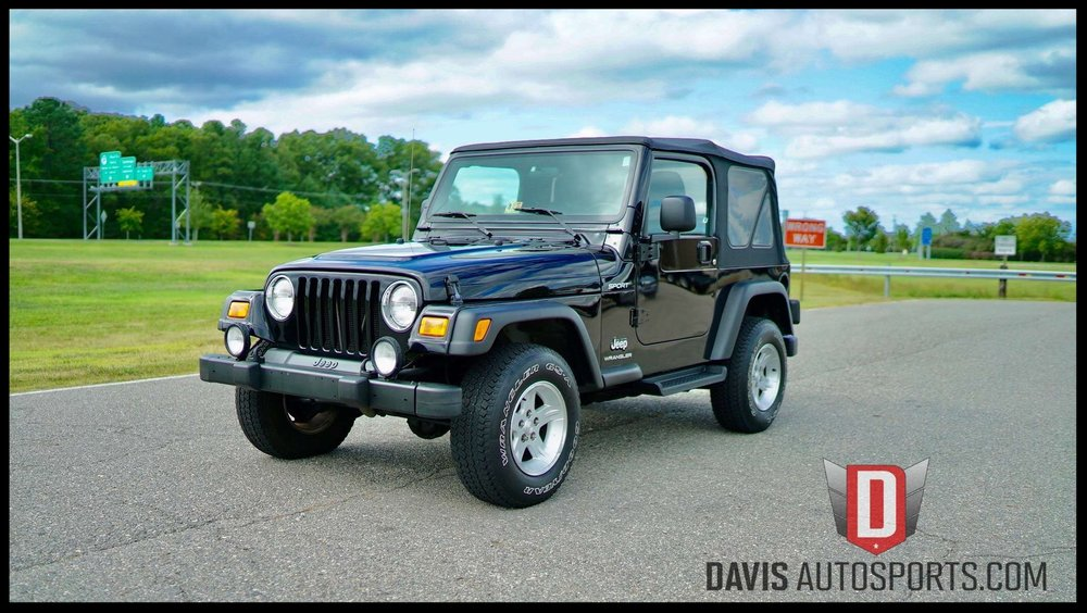 Jeep Wrangler TJ For Sale