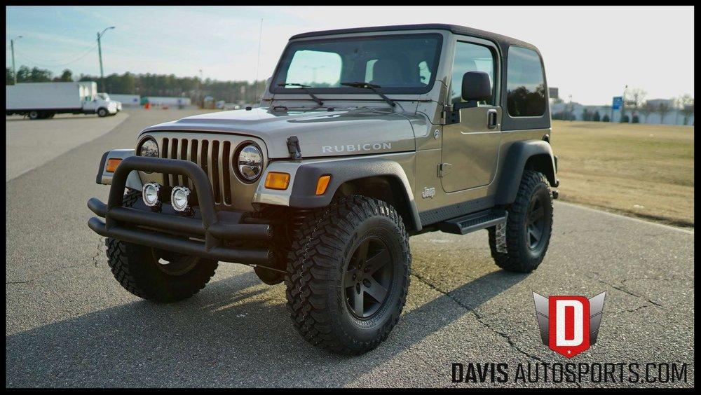 Jeep Wrangler Tj >> Wrangler Tj Yj Cj Davis Autosports