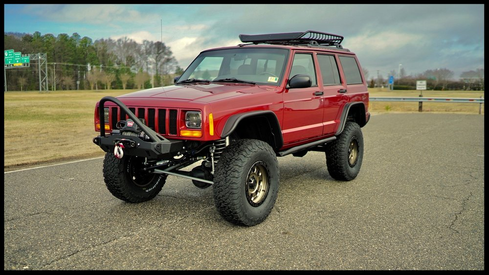 Jeep Cherokee XJ Rubicon Express Long Arm