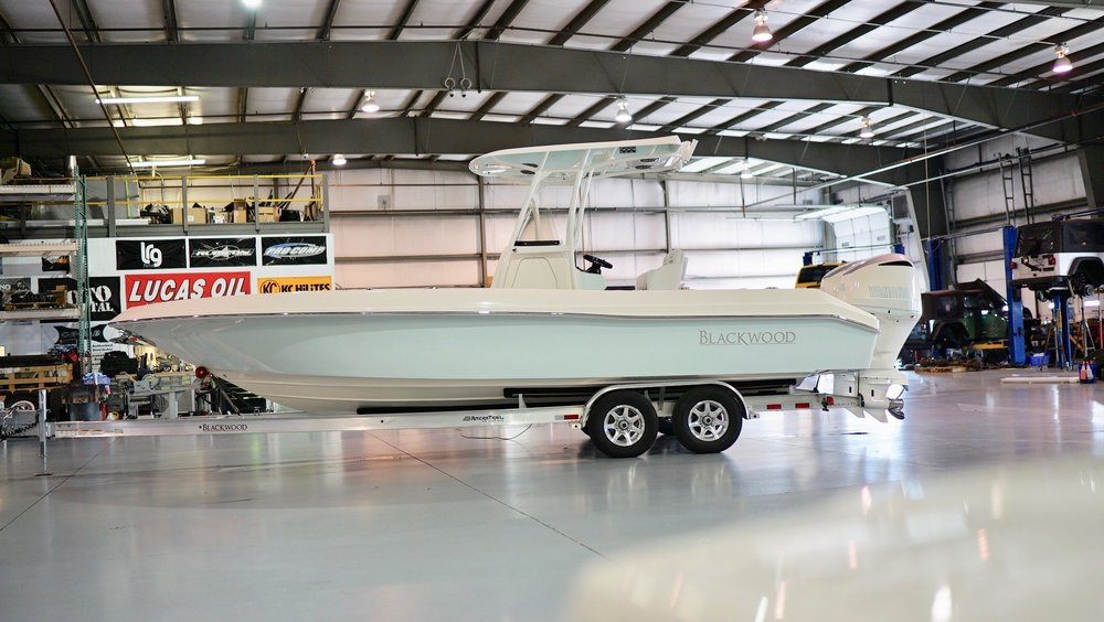 2019 Blackwood 27 / Twin 300s / Simrad