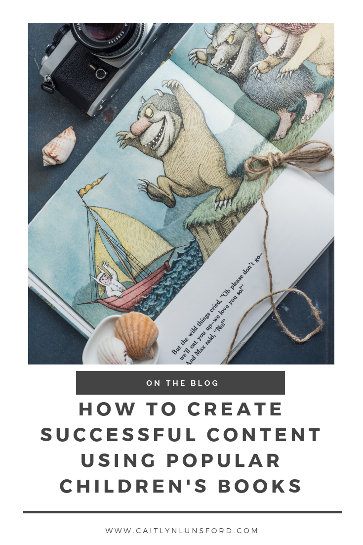 How children's books can influence your content marketing strategy. - Caitlyn Lunsford Photography