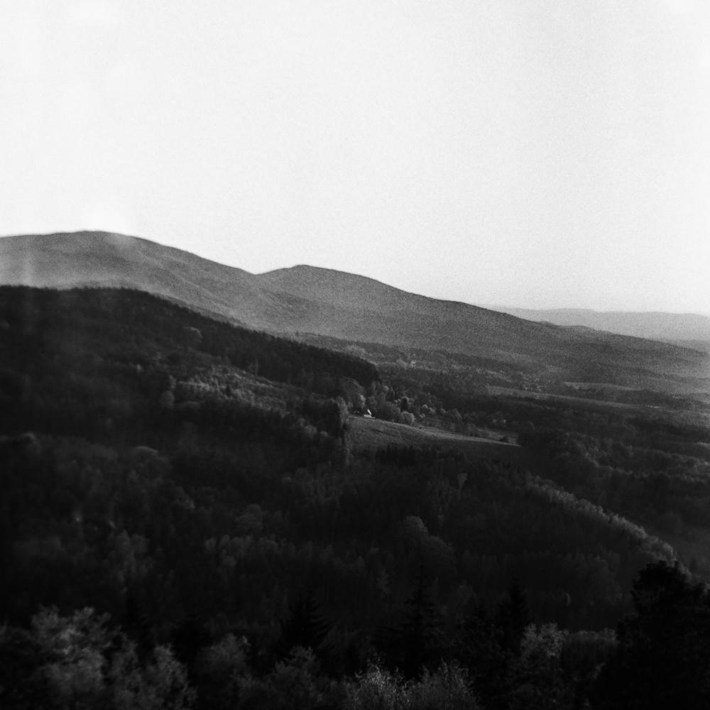 Krajina na černobílém svitku #2016