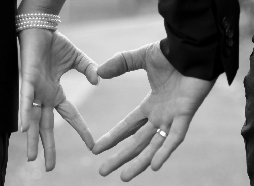 ...verliebten Weges geht es weiter in eine gemeinsame Zukunft...