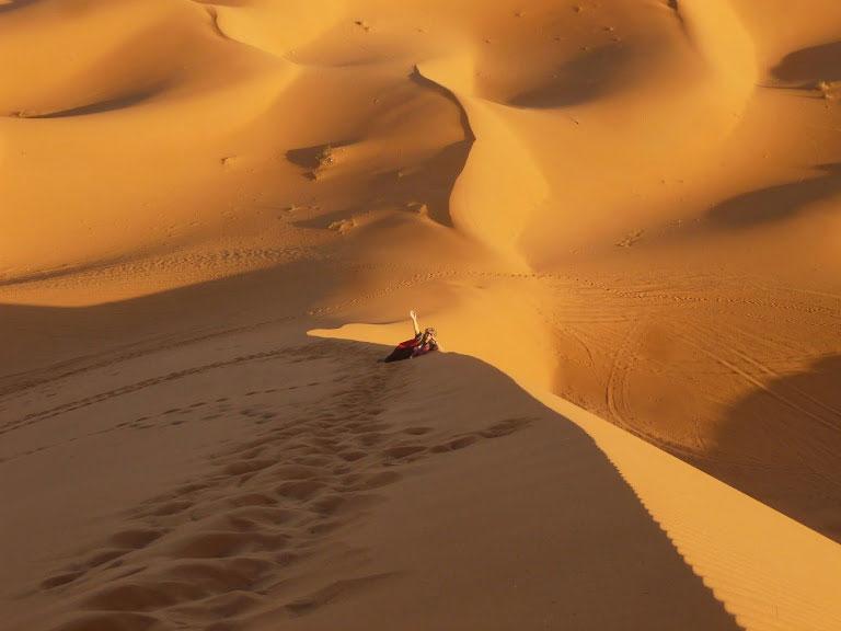 Crecer Viajando en el Sahara