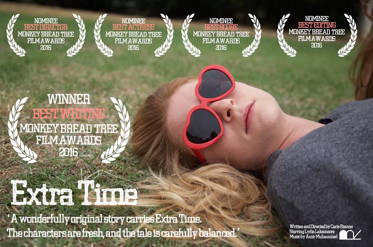 Extra Time wins Best Writing at the Monkey Bread Tree Film Awards