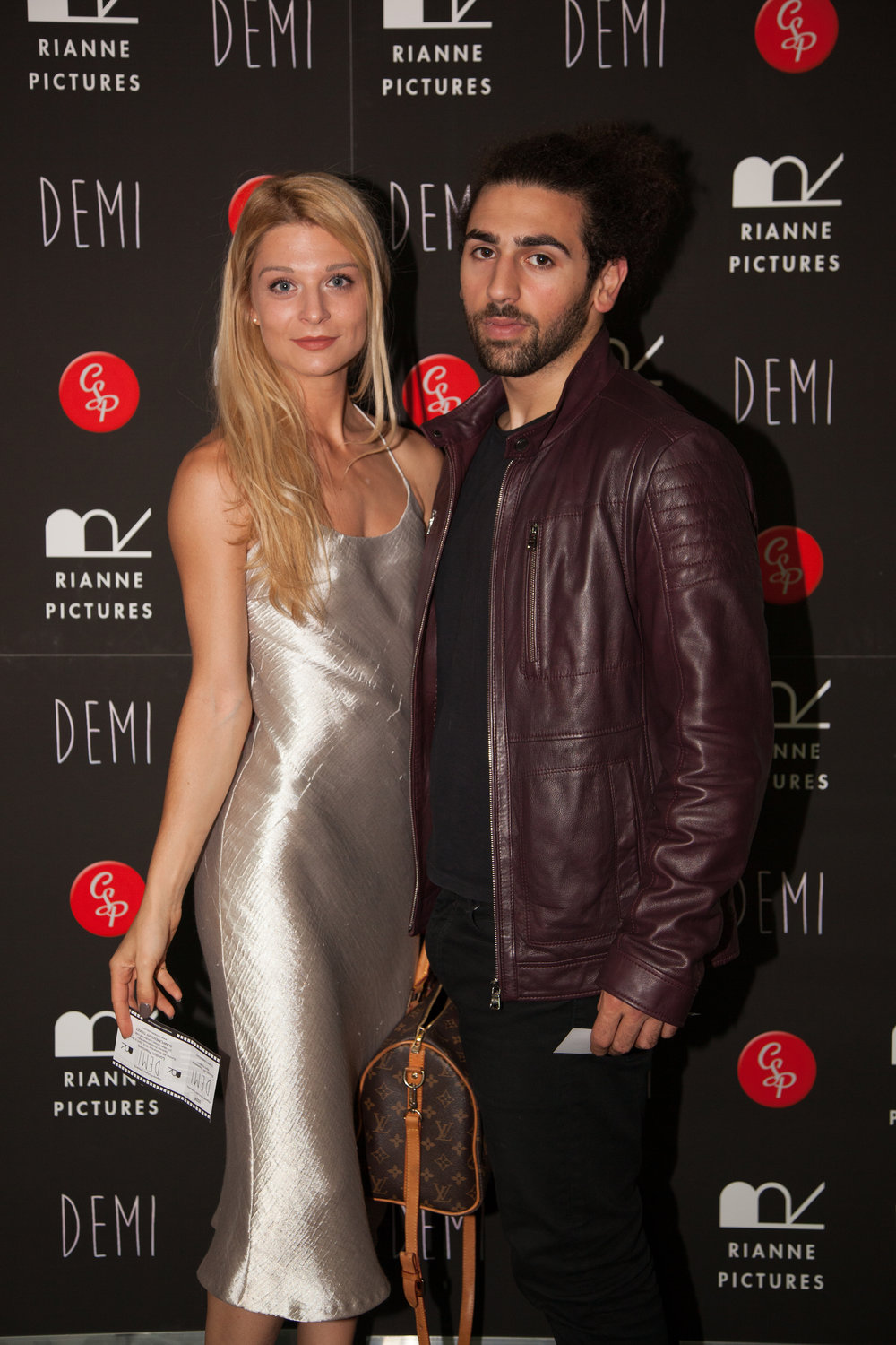 Lydia Lakemoore with her partner Arman Mantella.