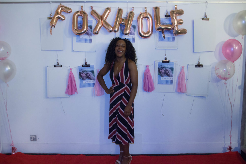 Mumbi at the premiere event of Foxhole