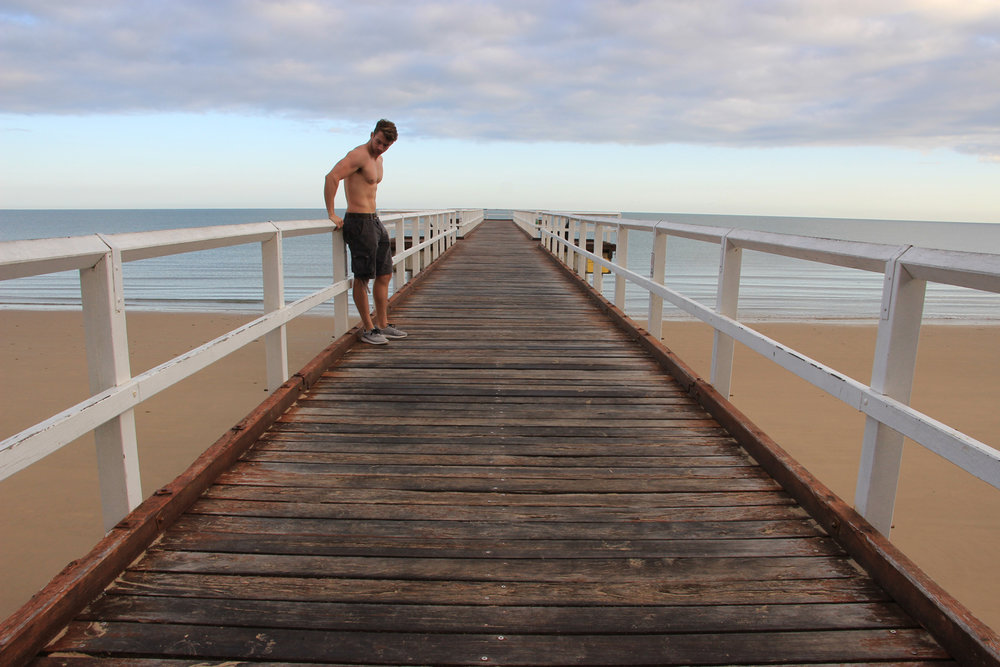 Hervey Bay Pier - @lauriecrayston