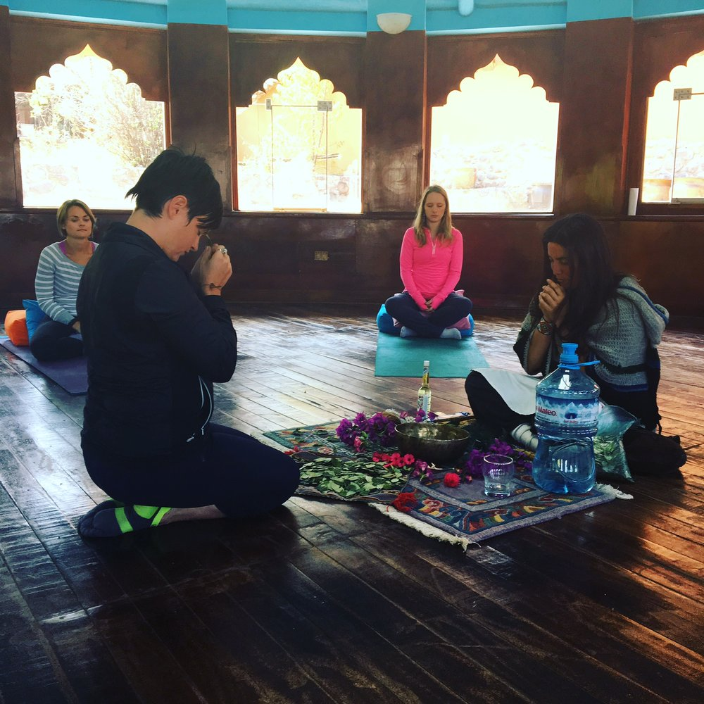 Peru reminds me of my immense need for ceremony.  It was a gift to share this sacred space with the six amazing ladies who came on retreat.