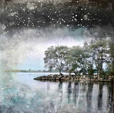 Starry Night Series - Lake Promenade II