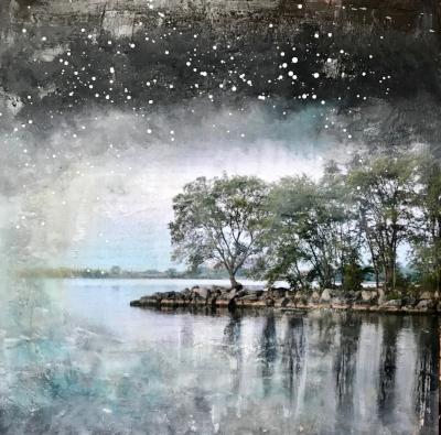 Starry Night Series - Lake Promenade II