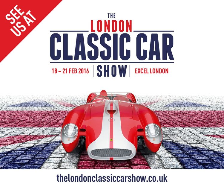 London Classic Car Show Illustrations By Simon Critchley - London classic car show