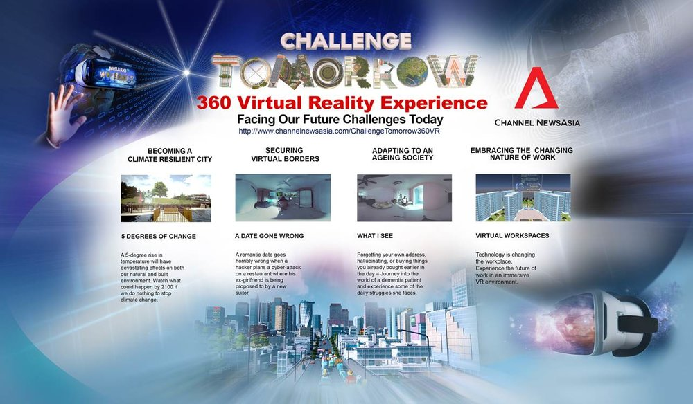New 360 filming challenge for Channel News Asia — Vostok VR