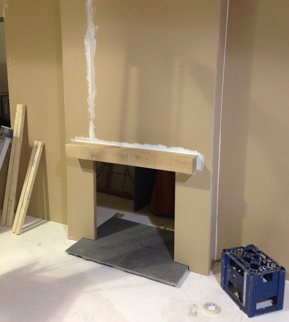 Creating a fireplace