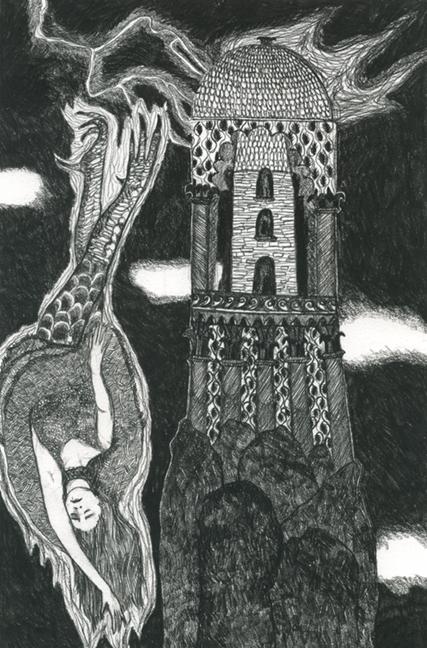 St. Barbara (The Tower Reversed)