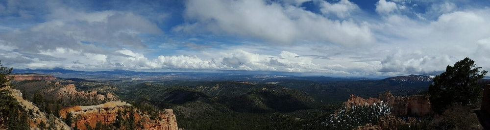 Fairview Point panorama, Bryce Canyon National Park