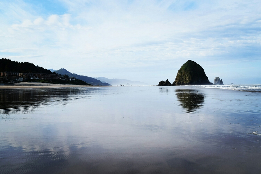 Another morning shot at Cannon Beach, OR.