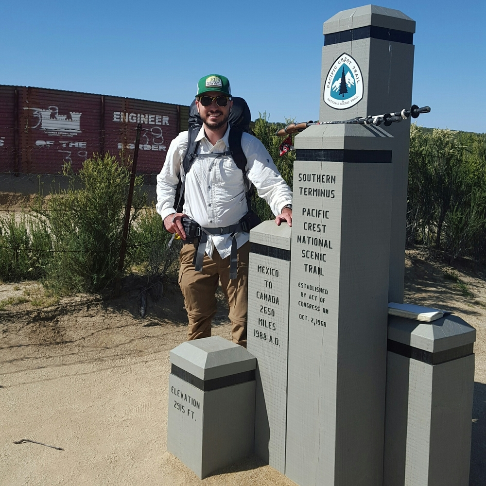 The Great Wall of Mexico and the start of the PCT.