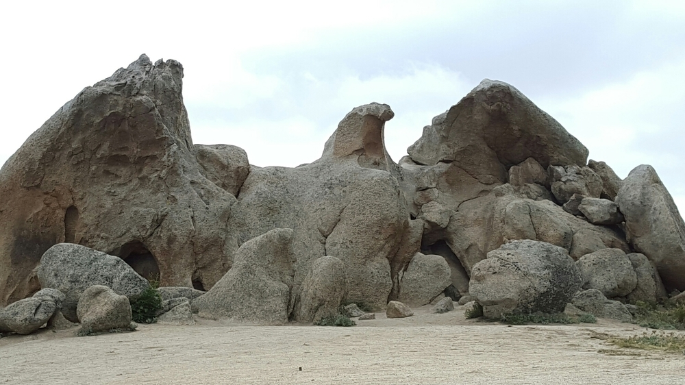 Eagle Rock near Warner Springs, CA (Mile 106)