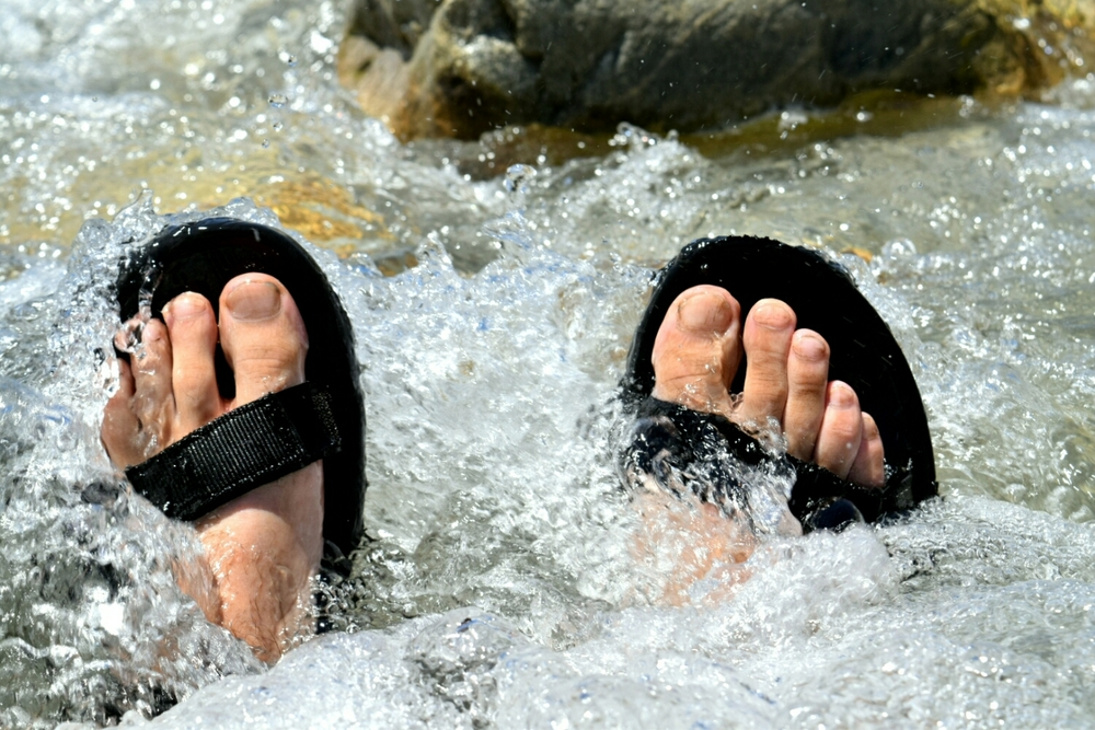My feet after three weeks