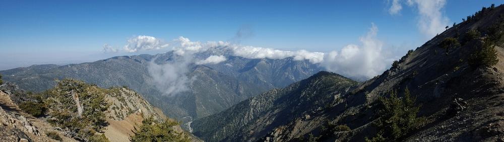 Mt. Baden Powell facing east