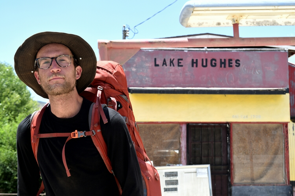 Squints at Lake Hughes