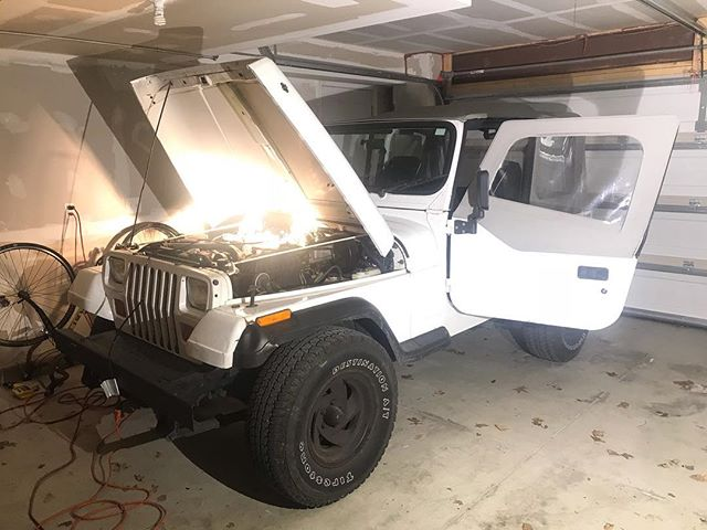 The 80-20 Rule, the #ParetoPrinciple, shows itself everywhere in life. This is the correlation between cause and effect, the working principle that 80% of the effects come from 20% of the causes.  Look at my old #Wrangler for example. This 25 year old machine has given me great joy (and great inconvenience) over the last couple years. A new Wrangler would set me back $40k+. I would love one, but speaking only from the gut, I'd say 80% of the enjoyment I could get out of a new #Jeep, I get from the $8k (20%) I've put into buying and fixing this '94 YJ.  The 80-20 rule isn't limited to intangible enjoyment. Quantifiable examples include 80% of revenues coming from 20% of customers, 80% of wealth owned by 20% of people, 80% of traffic accidents caused by 20% of drivers,80% of the time you're wearing 20% of your clothes, 80% of your time on the internet is on 20% of sites. The list is limitless.  I say all this as just a lesson I've come to learn and slowly incorporate into my own actions. When you want to do something, and you need results, set a quantifiable goal, and figure out how to get to 80% of the effects you need first. And then pause and reflect, is 80% good enough? It may be, it may not be, that's fine either way. But you can often avoid a tremendous amount of time, energy, effort, and commitment of resources required by the last 80% of the work to receive the last 20% of the effect.  We see today in the greatest time to be alive in human history, 80% of complaints, excuses, and outrage coming from 20% of people. If complaining is your goal, then by all means join this club. But if you want to do something, whatever that is, whatever you've been putting off or dreaming of doing, you only have a fraction of the challenge in front of you if you just seek 80% of effects.  Do you want to take a year off and travel? What would it take to get 2.5 months off and travel first?  Do you want a $1,000,000 house? What would it take to get a $200,000 house first?  Do you 