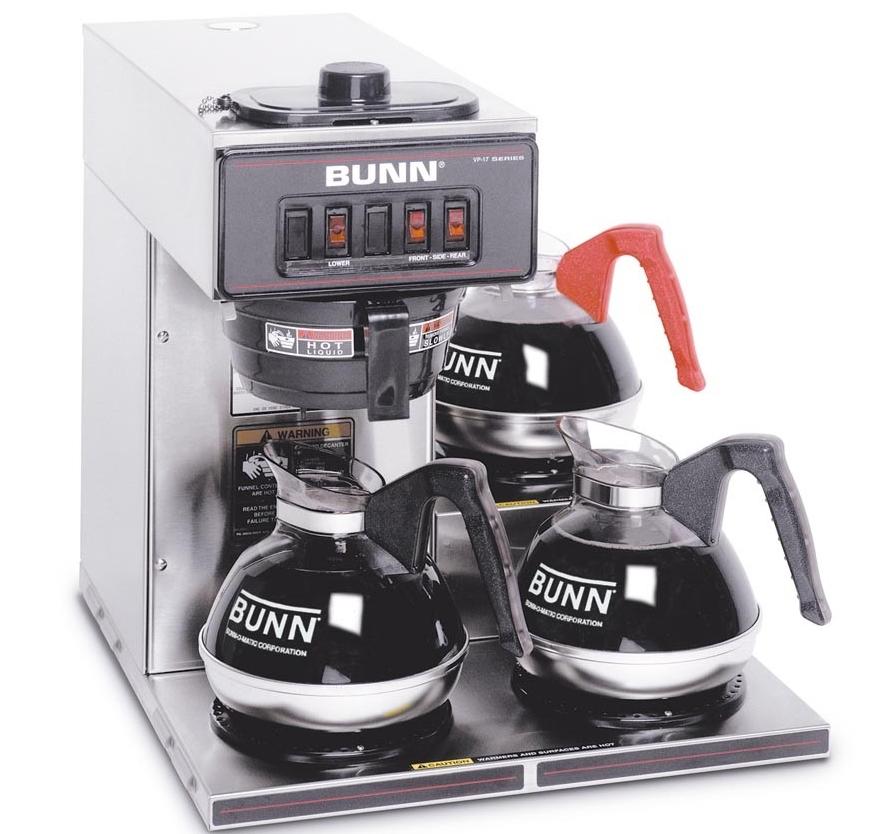 This is a Bunn coffee machine.