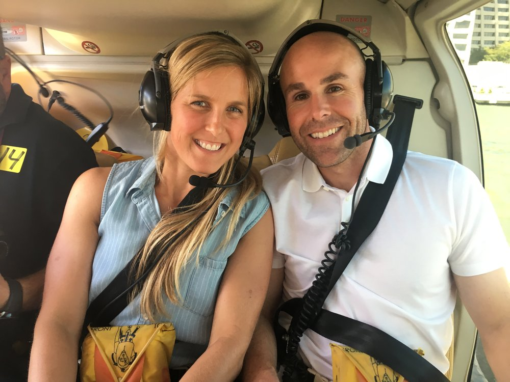 Helicopter Ride over NYC for my 35th Birthday!