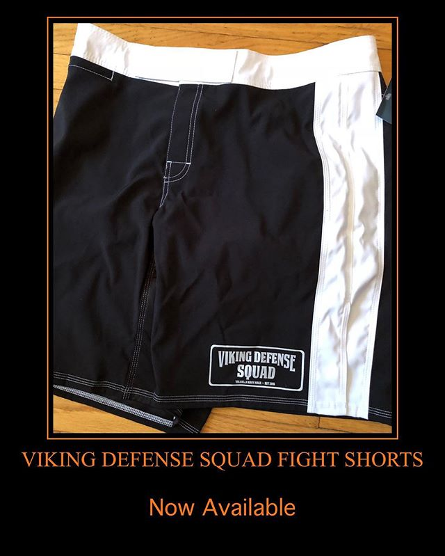 Get the new Viking Defense Squad Fight Shorts! Available now in the ProShop. #fitness #fighting #selfdefense #kravmaga #kravmagaworldwide #vds #vikingdefensesquad #vkm #valhallakrav #valhallakravmaga #earnyourplace