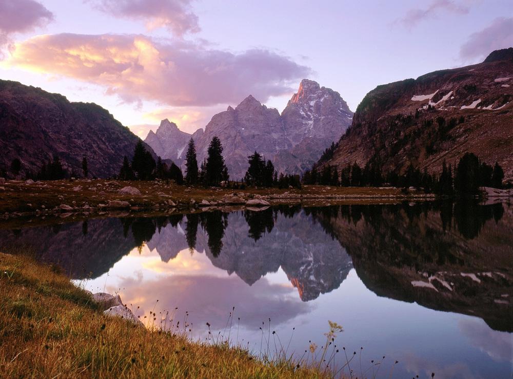 Lake Solitude Sunrise