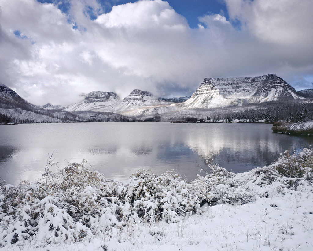 First snow at Trappers Lake
