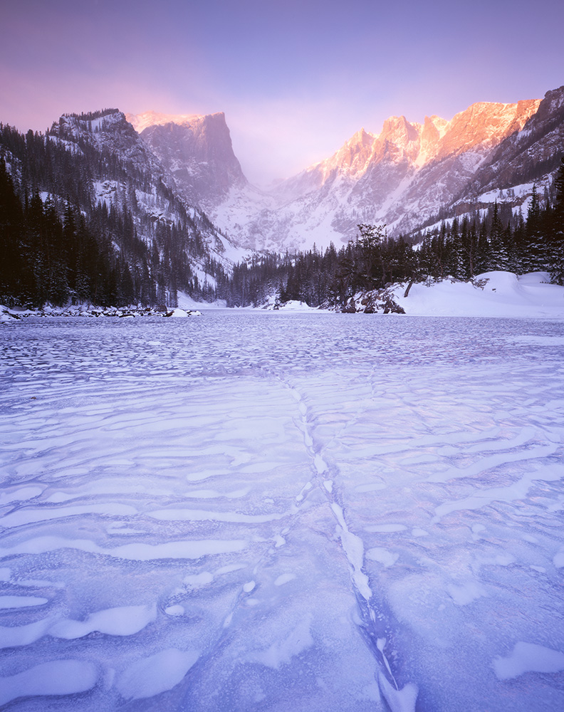 Frozen Dream Lake