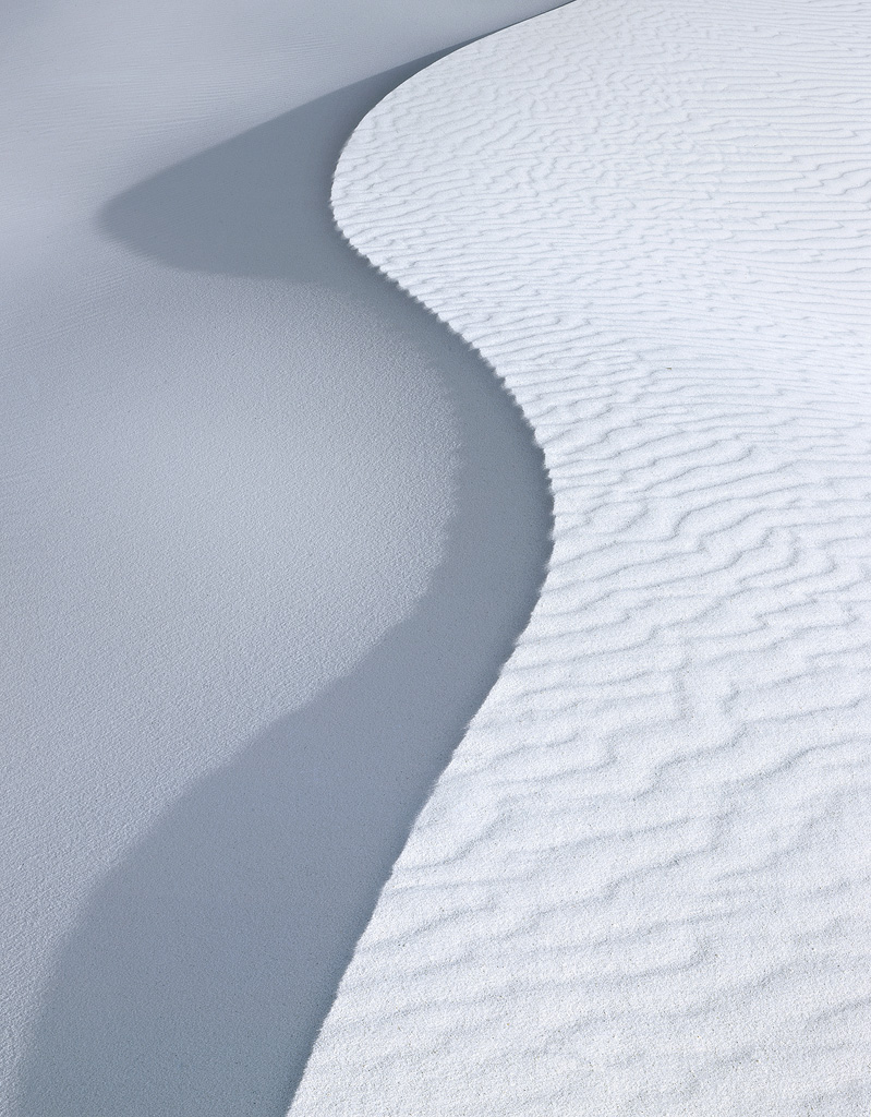 Dune shadows in afternoon light.  Prints available.